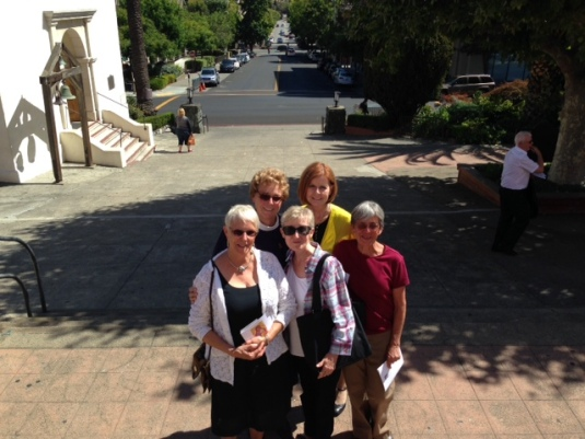 Some set-mates, not all, in San Rafael for the 50th Jubilee of Pat O.