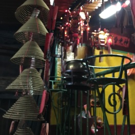 Man Mo Temple on Hollywood Road, Sheung Wan