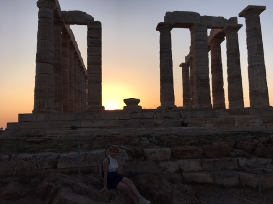 Sawsan-Temple of Poseidon